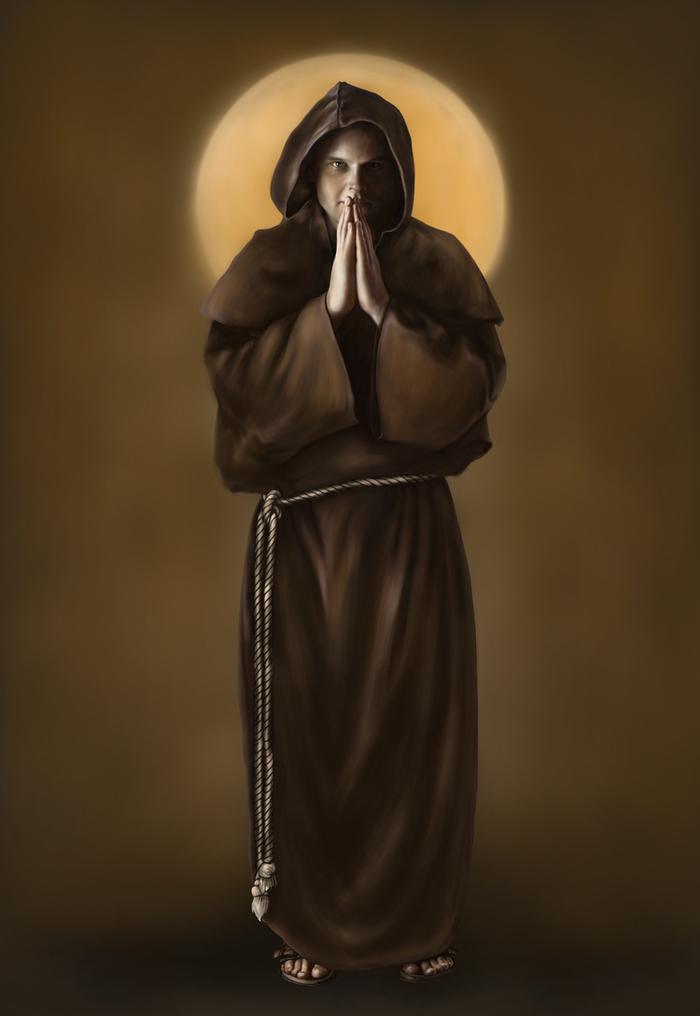 Самые красивые картинки монах