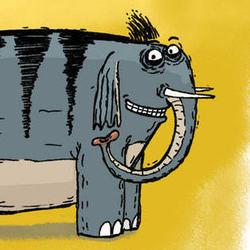 Картинки слоны на закате поэтому частный