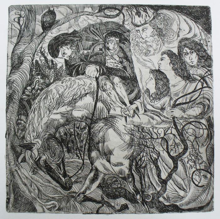 Картинки на балладу лесной царь