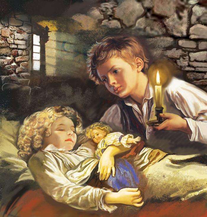 Дети подземелья иллюстрации к книге