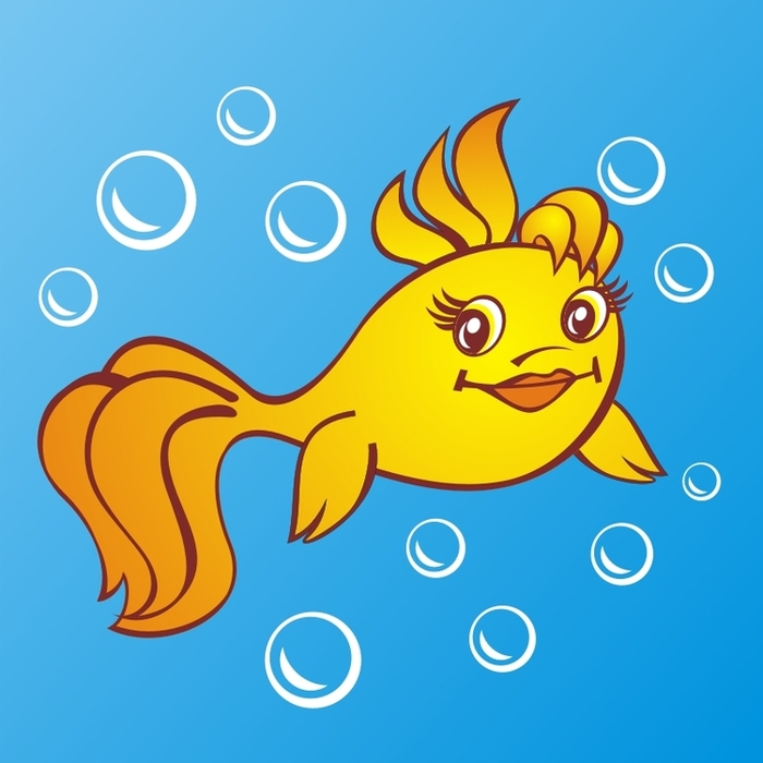 проводите картинки про рыб из сказок между