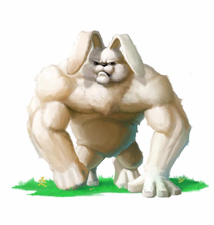 Картинки мускулистый заяц