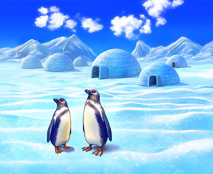 Южный полюс картинки для детей