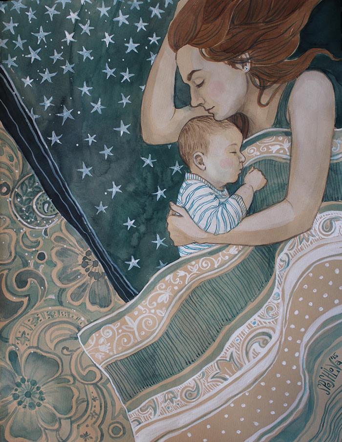 Материнство открытки