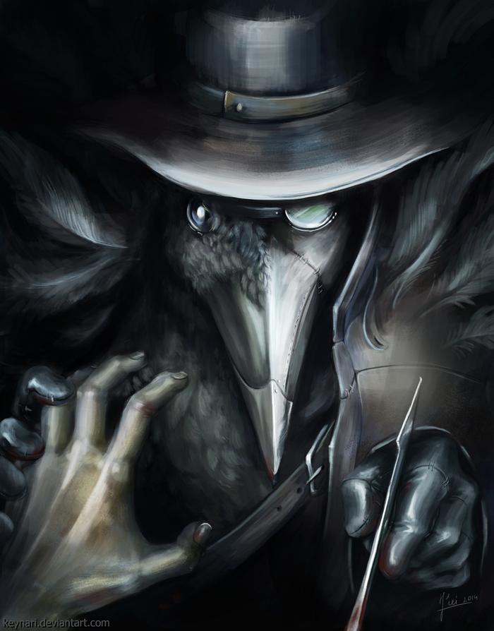 Чумной доктор красивые картинки