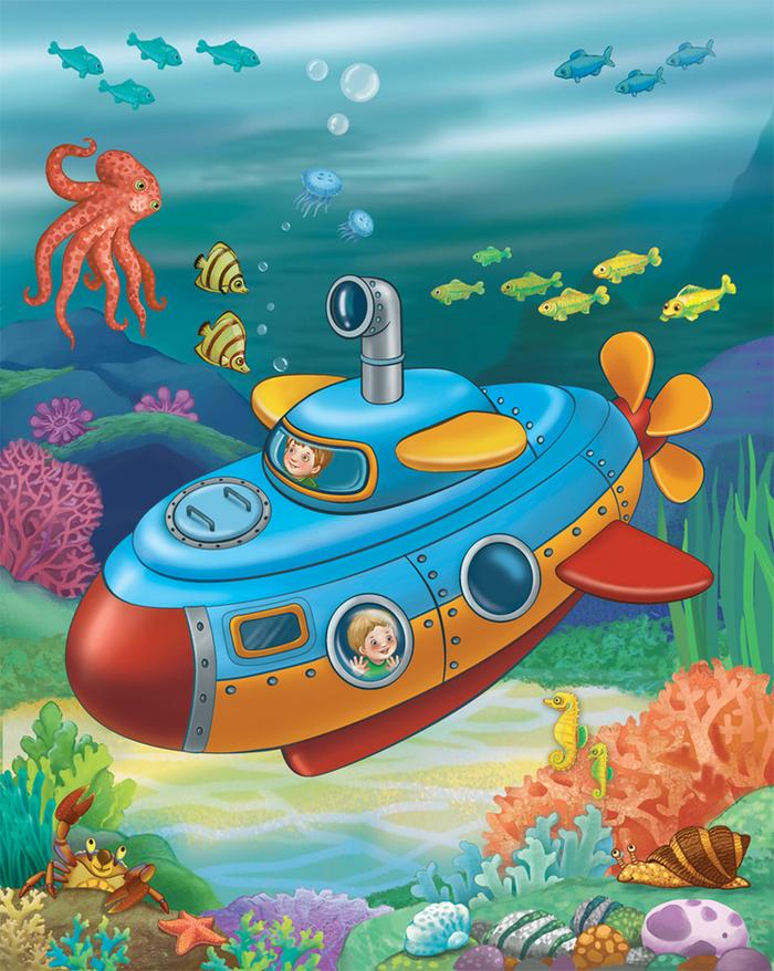 смешарики про подводную лодку