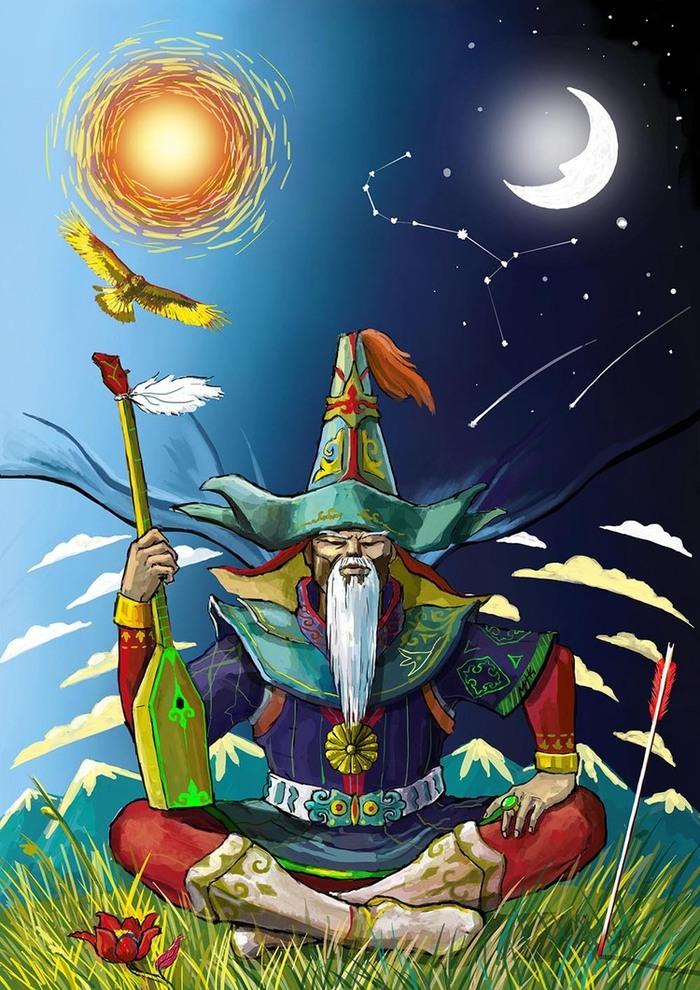 Иллюстрации к казахским народным сказкам