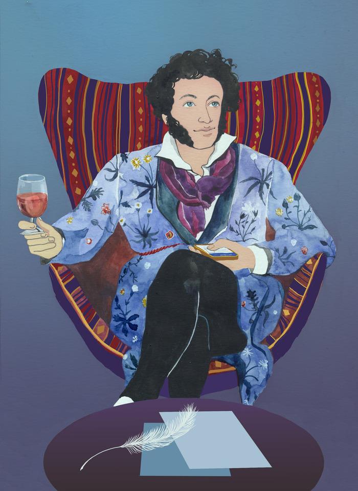 Смешные картинки а.с.пушкина