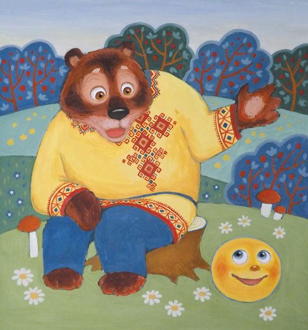 Картинки из сказок про медведя