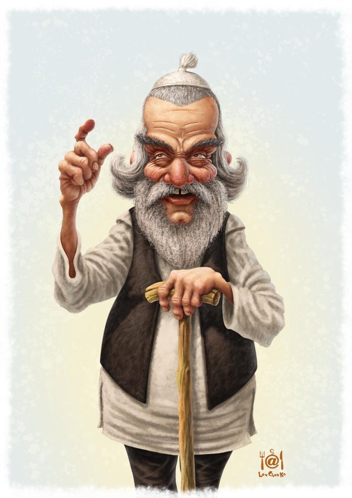 старый еврей смешная картинка шона