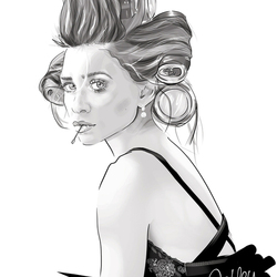 Portrait Ashley Olsen