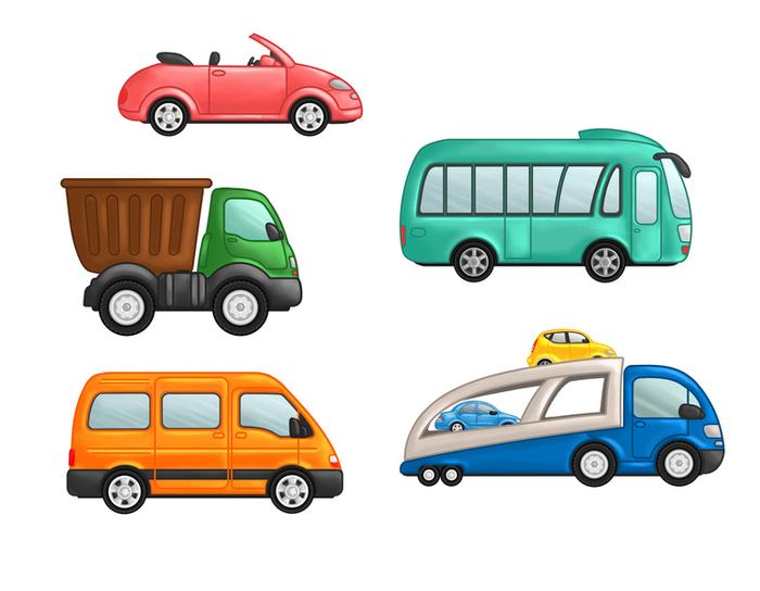 Картинки машины для детей дошкольного возраста, открытка нового