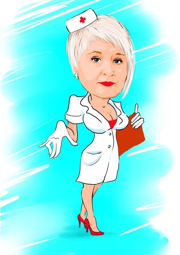 Медсестры смешных картинках, анимашки