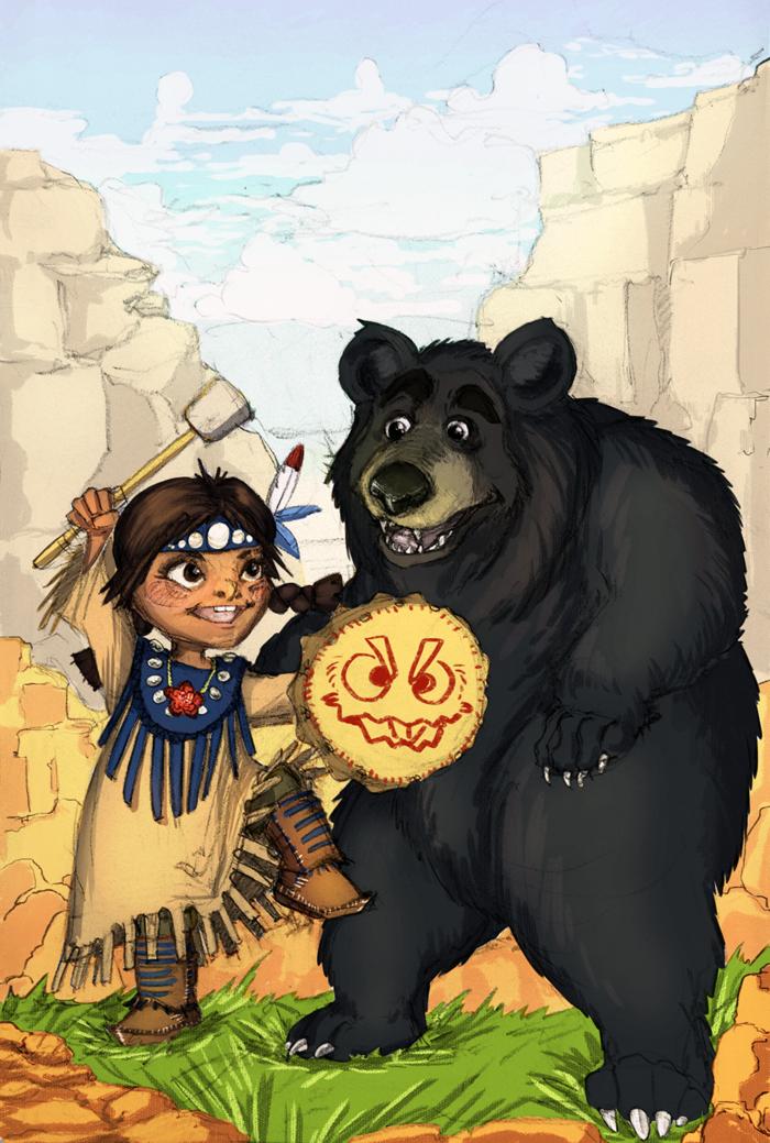 Маша и медведь арты аниме