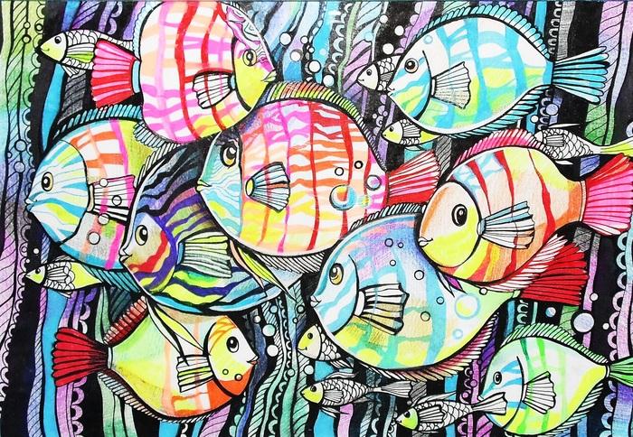 Декоративная рыба картинки