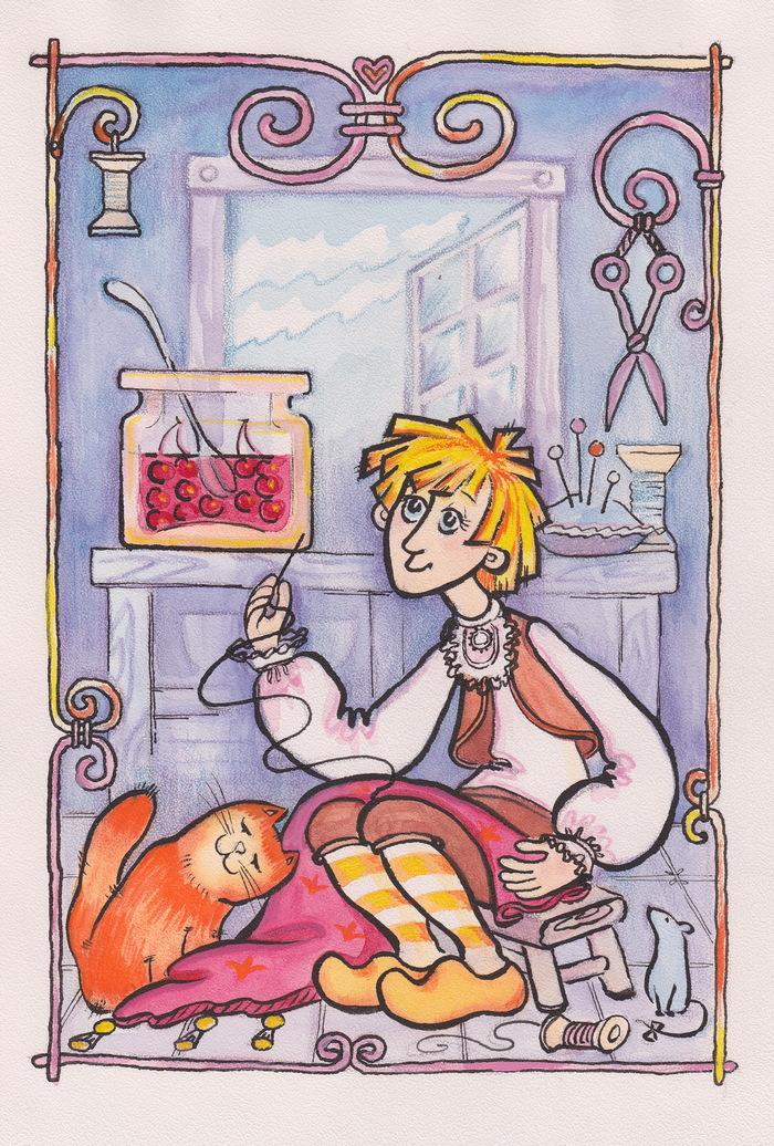 Смешные храбрецы из сказок рисунки, открыток мая