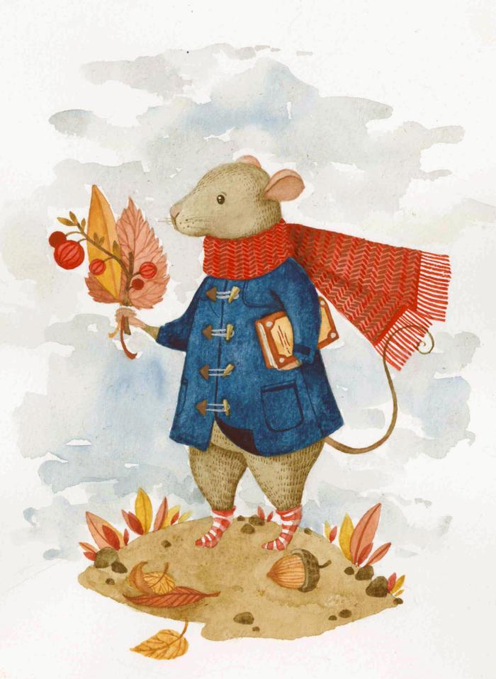 Прикольные животные осенью картинки нарисованные, ржачное поздравление