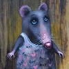 User illustration thumb rat