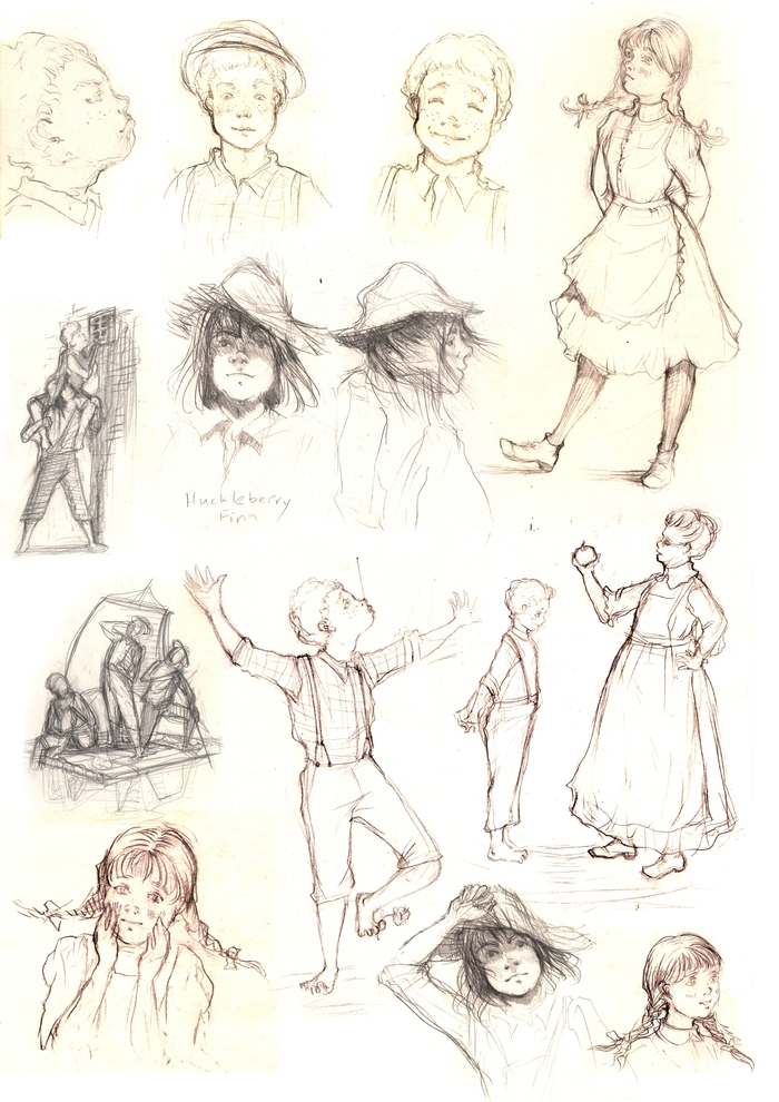 Как рисовать тома сойера поэтапно