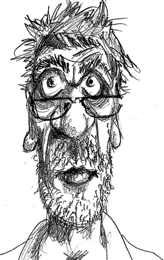 Рисунки смешной очкарик