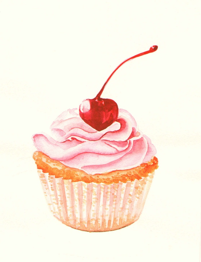 cupcake png clipart cupcake drawing pastry pastel - 700×912