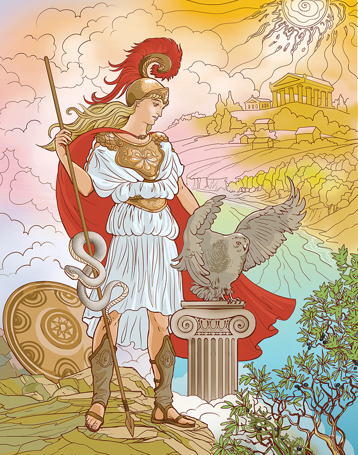 Мифы древней греции картинки богини