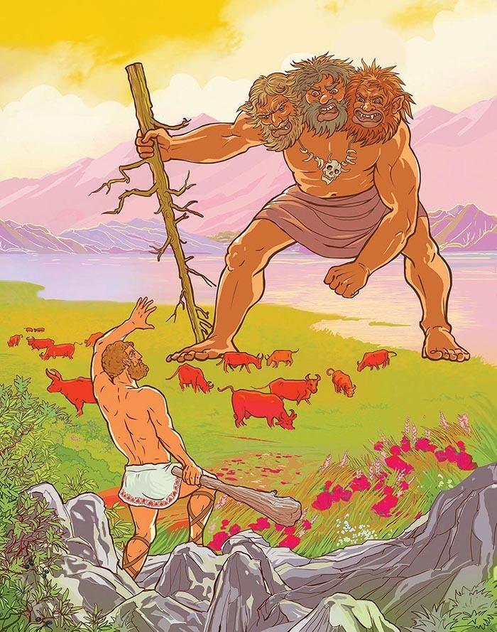 Геракл веселые картинки