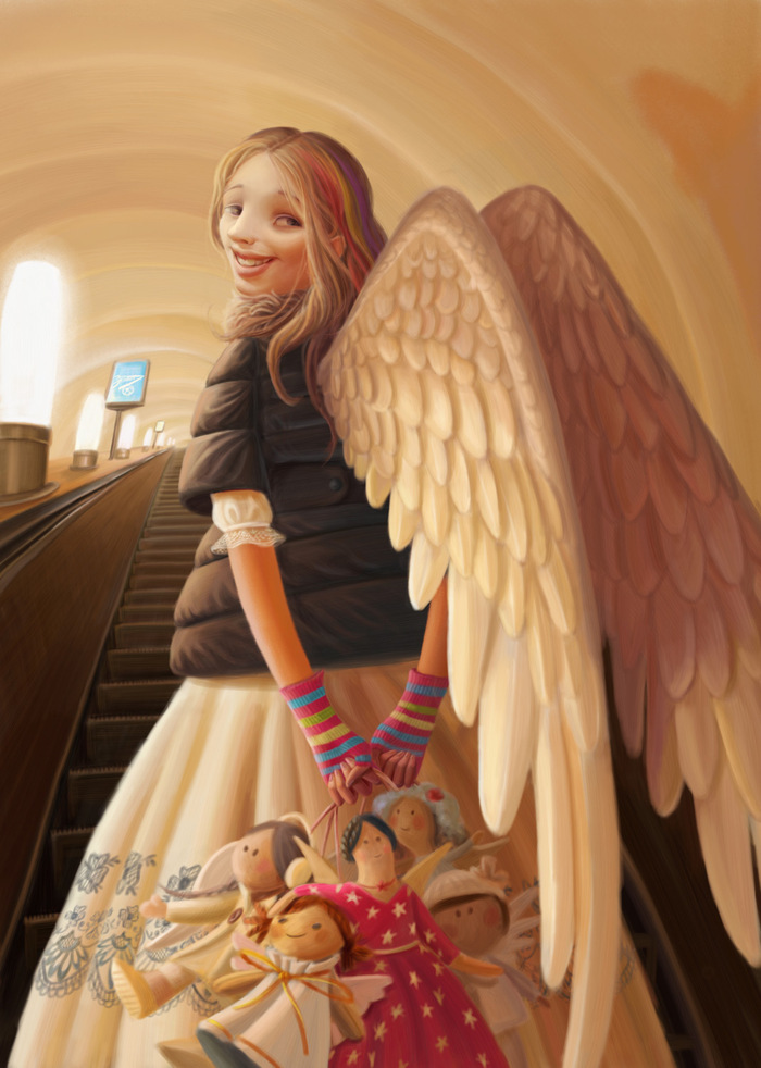 Варя Колесникова: Ангелы, питомцы и уют в доме