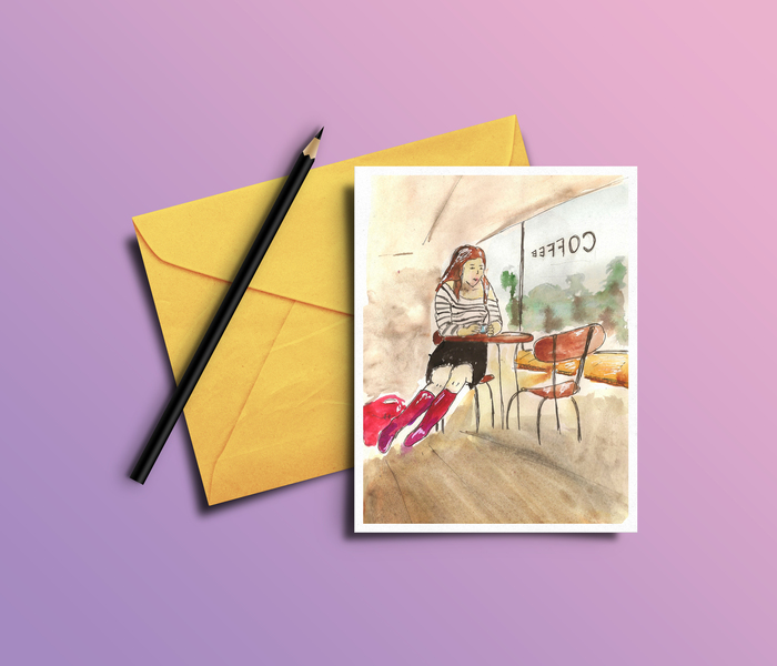 Реклама открытки проект