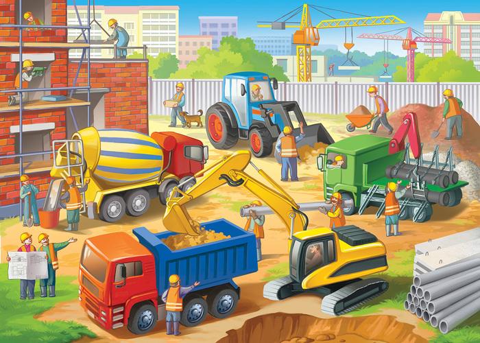 Картинки стройки дома для детей, стихи счастье