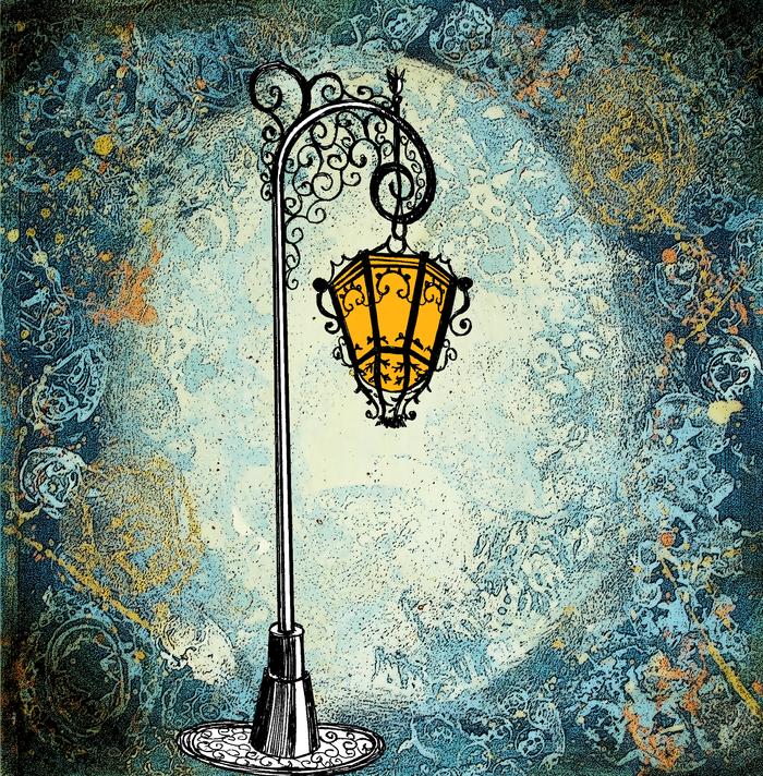 Старинный уличный фонарь картинки