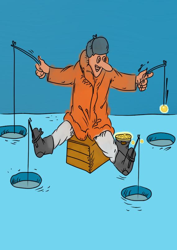 Открытки прикольные про рыбака