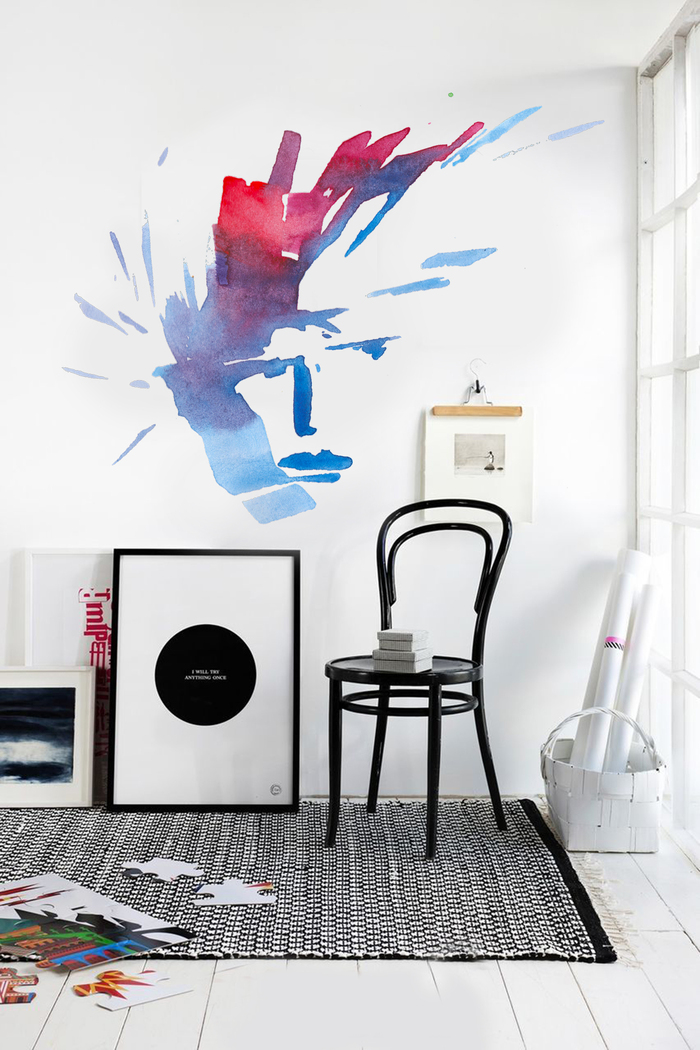 Как развесить принты на стене