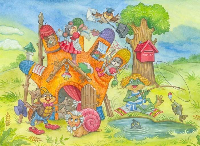 Рисунки к сказочной сказке