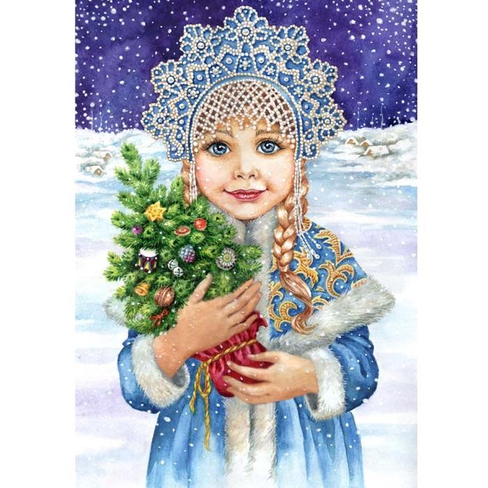 Снегурочка с открытки слушать