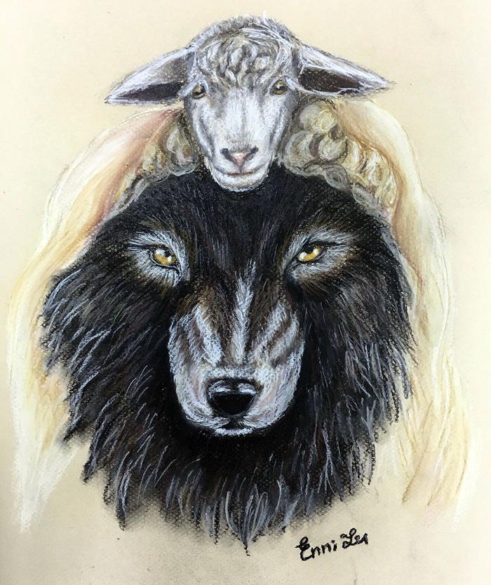 волк в овечьей шкуре картинки полное витаминов, при