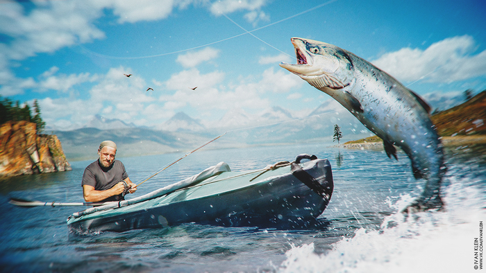 рыбалка klein