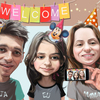 User illustration thumb elena familie welcome