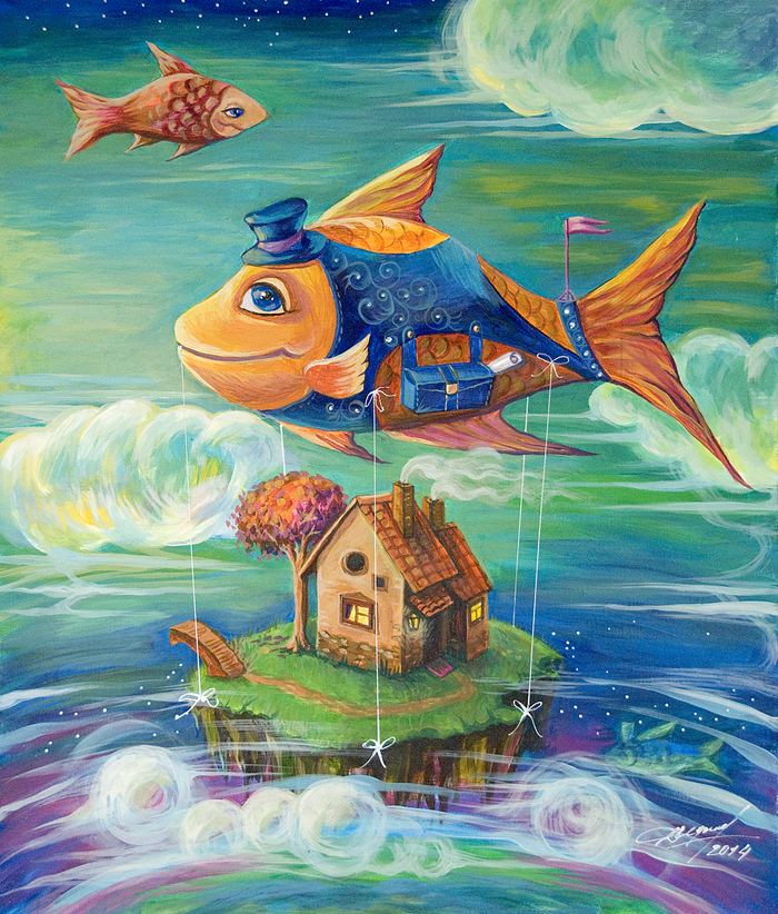 картинки про рыб из сказок данные десерты