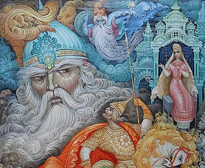 все руслан и людмила картинки иллюстрации с автором разноцветные скалы яшмы