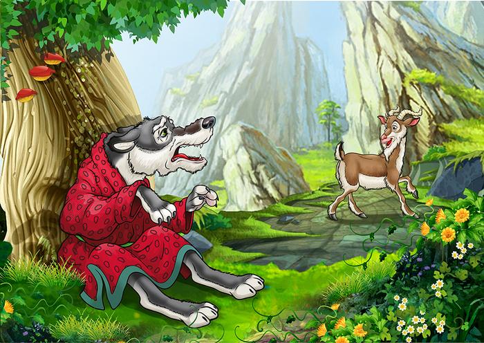 Глупый волк картинки