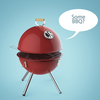 User illustration thumb bbq