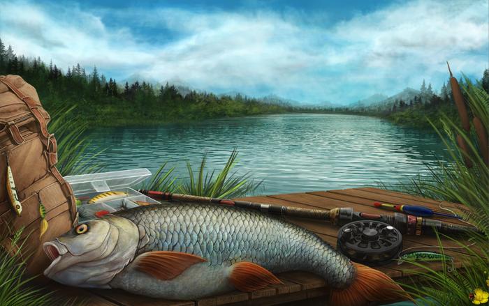 дегтево рыбалка