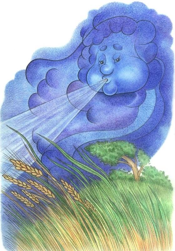 Изображение ветра на картинке