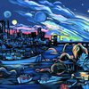 User illustration thumb night nha trang by klementinamoonlight d9vabzv