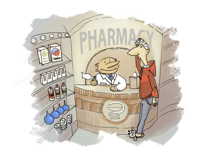 Смешные картинку про аптеку