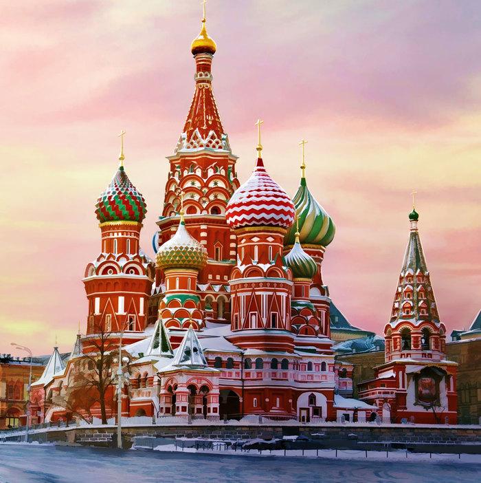 Картинка храм василия блаженного для детей, россия